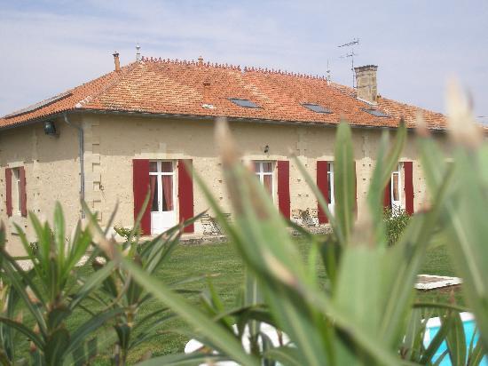 Domaine de Blaignac: Vue en bordure des vignes