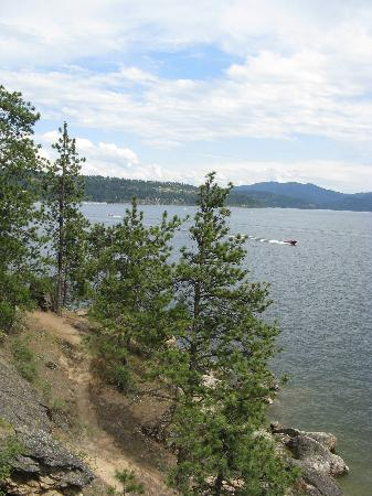 Another view from Tubbs Hill -- Coeur d'Alene