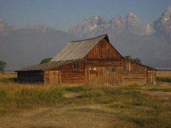 Wildlife Expeditions of Teton Science Schools: My favorite barn on Mormon Row