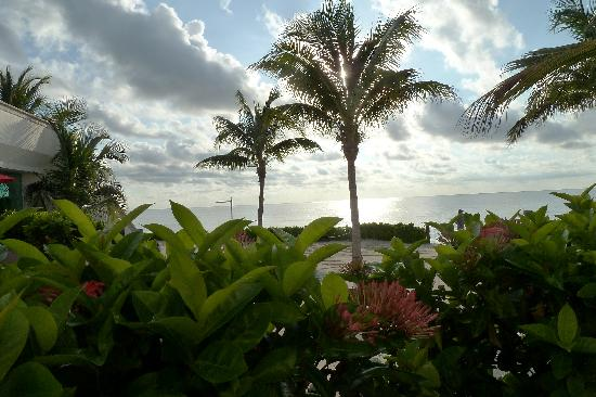 BlueBay Grand Esmeralda: Our view while eating breakfast most mornings