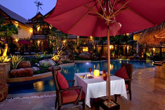 Rocky's Boutique Resort: Rocky's Bistro Pool Side