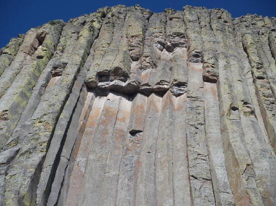 Devils Tower National Monument: Detail