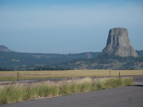 Devils Tower National Monument: From afar