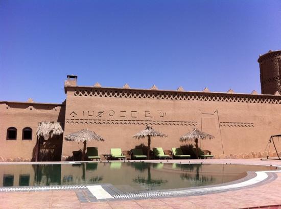 Kasbah Hotel Tombouctou: PISCINA