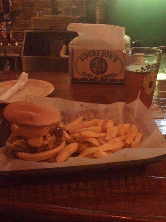 Local Joe's Tap & Grill: A very tasty burger!