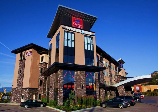 Comfort Suites Kelowna: welcome to Comfort Suites