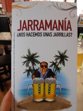 Cerveceria 100 Montaditos: menu