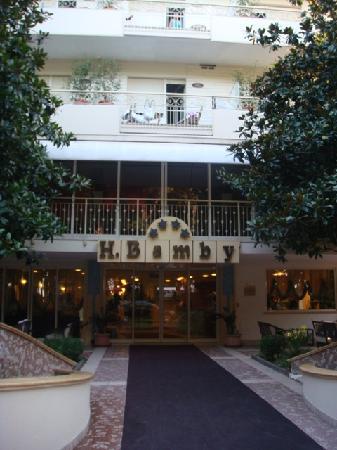 Hotel Bamby : entree