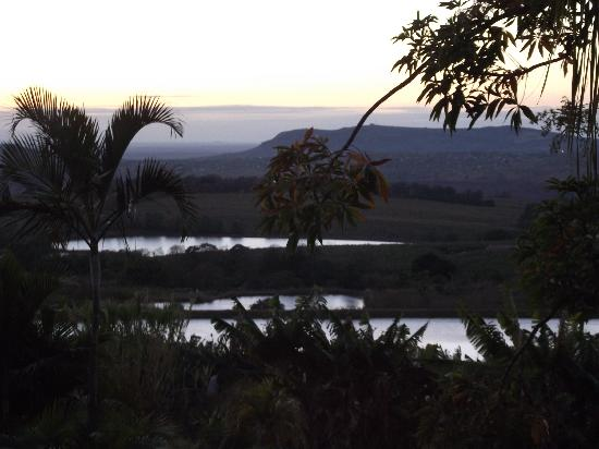 Nabana Lodge: View from our room 6.30am