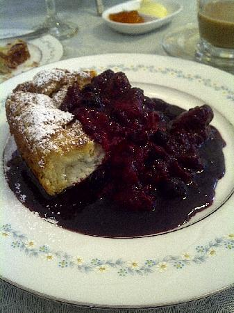 Blue Door on Baltimore: Baked French toast