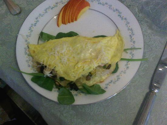 Blue Door on Baltimore: Omelet