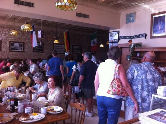 Old German Bakery and Restaurant: busy at the bakery