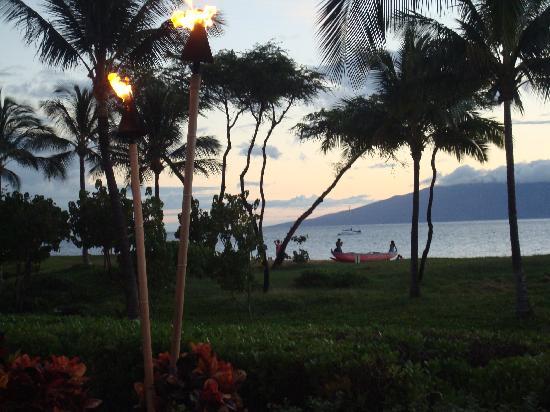 The Westin Ka'anapali Ocean Resort Villas: View Lanai and Molokai from Westin