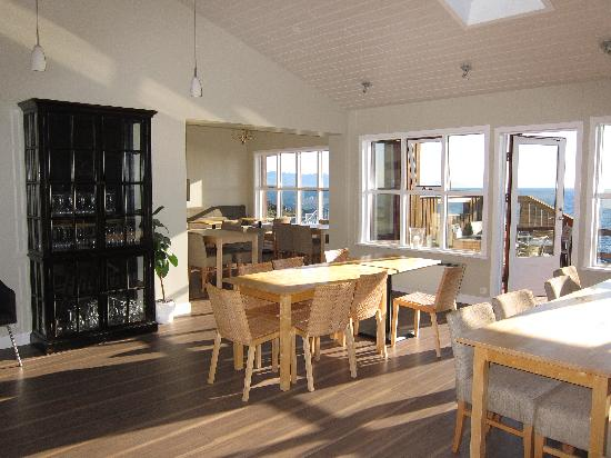 Fosshotel Hellnar: Dinner and breakfast area