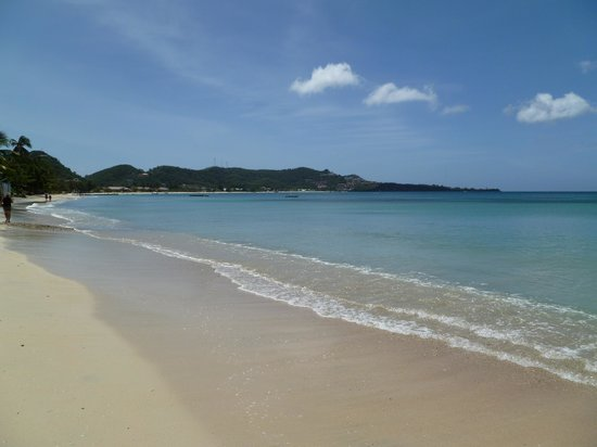 Grand Anse Beach Palace Hotel: Grand Anse Beach