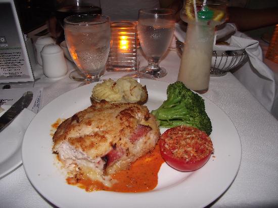 Skylon Tower: My Chicken Cordon Rouge