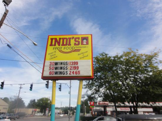 Indi's Fried Chicken: just look at those prices!