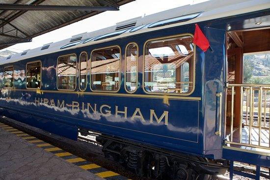Hiram-Bingham-Luxuszug: Hiram Bingham