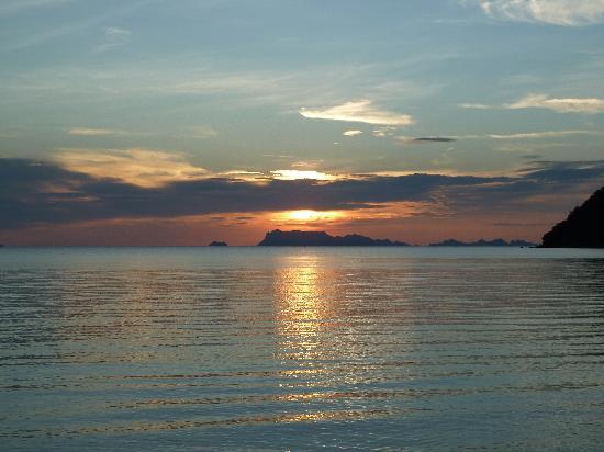 The Passage Samui Villas & Resort: Beautiful sunset at resport