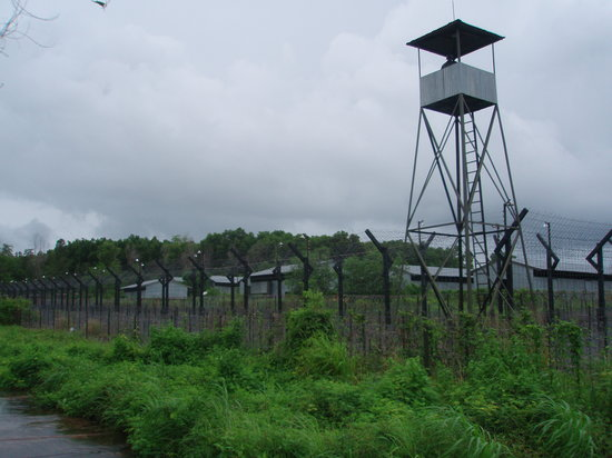 Phu Quoc Island, Vietnam: The prison and watch tower