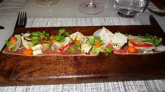 Hawksworth Restaurant: Veal Carpacio