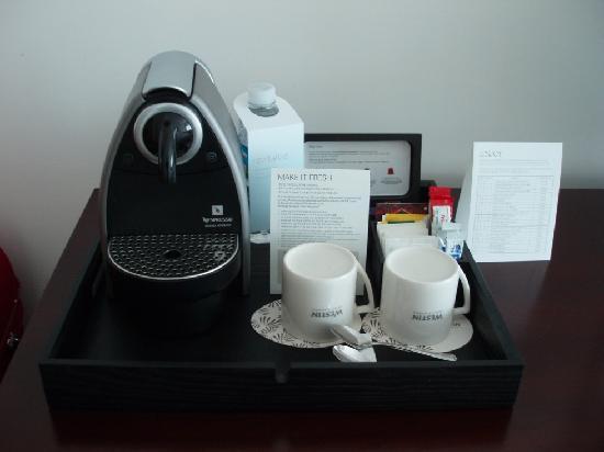 เดอะเวสติน โชซันปูซาน: Personal coffee machine