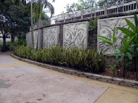Taman Wawasan: One of the landscaped area in the park.