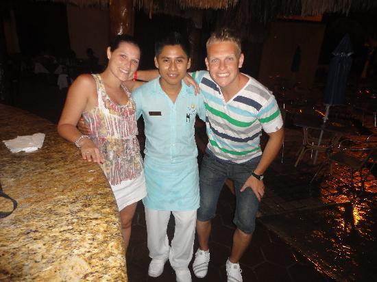 Real Playa del Carmen: Con Omar