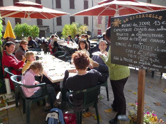La Cardabelle : En terrasse