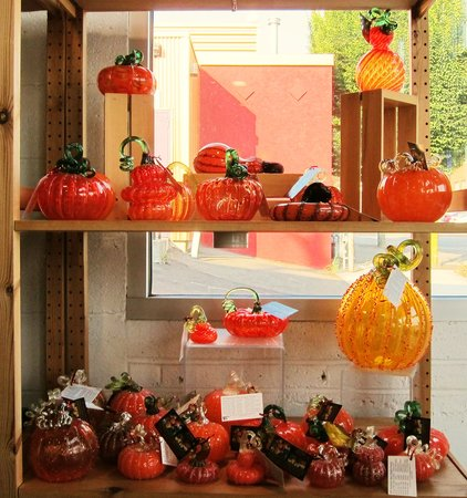 Tacoma Glassblowing Studio: You can make one of these highly desirable pumpkins.