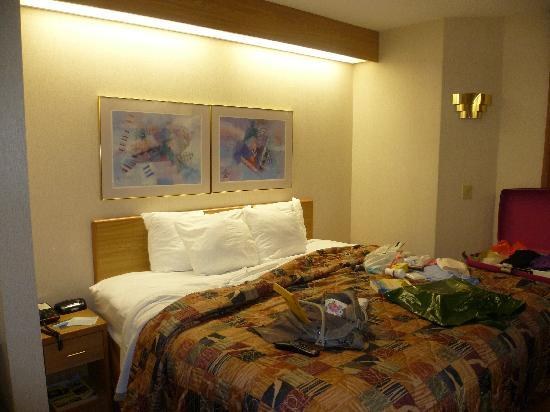 Sleep Inn Bryson City - Cherokee Area: Big bed & 5 pillows
