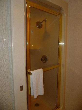 Sleep Inn: Shower cubicle