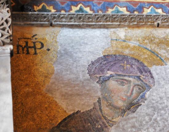 พิพิธภัณฑ์ฮาเจียโซเฟีย: Mosaic