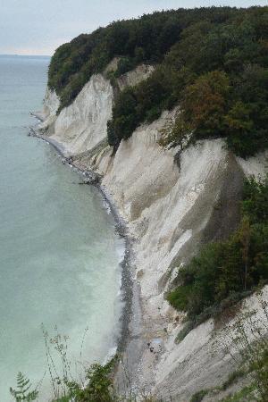 Hotel Imperial: Limestone cliffs of Rügen