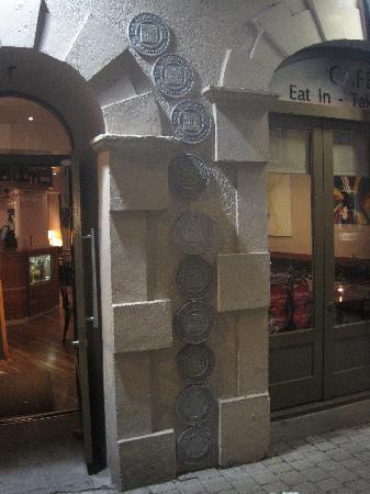 Zuni Hotel: Eingang