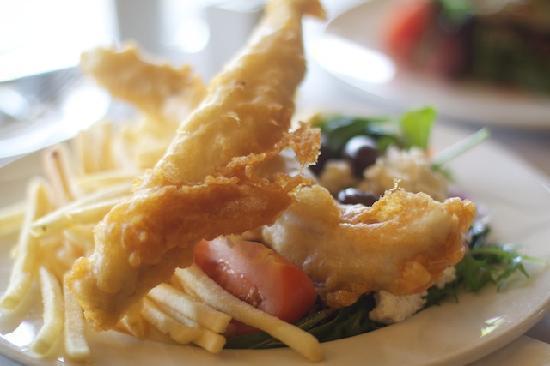 Buffs Bistro: Fish Fillet & Chips