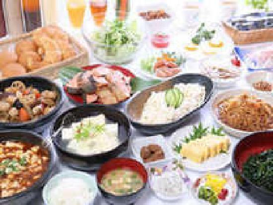 Kuretake Inn Omaezaki: <35種類の無料バイキング朝食>