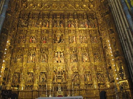 มหาวิหารเซวิลล์: Sevilla Cathedral sept 2011