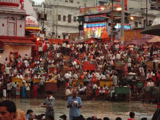 Har ki Pauri: Just before the Ganga Aarti