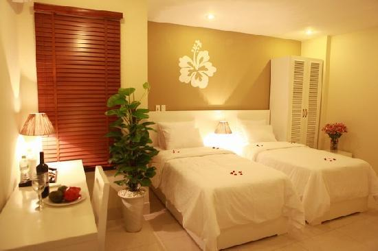 Hanoi Hibiscus Hotel: Deluxe Twin