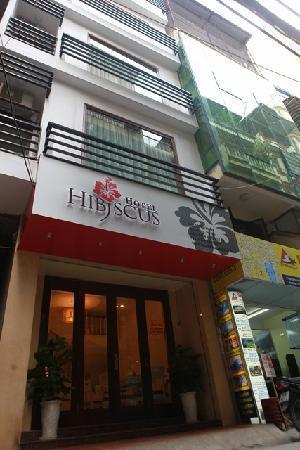 Hanoi Hibiscus Hotel: Hotel entrance