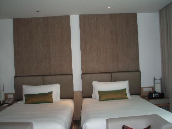 คราวน์ พลาซ่า โฮเต็ล ชางกี แอร์พอร์ท: Bedroom