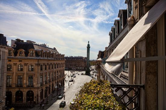Park Hyatt Paris - Vendome: View from our Balcony