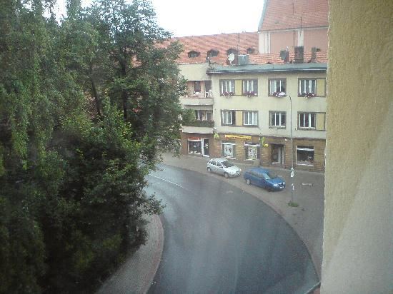 Hotel Villa Polonia : view from hotel window