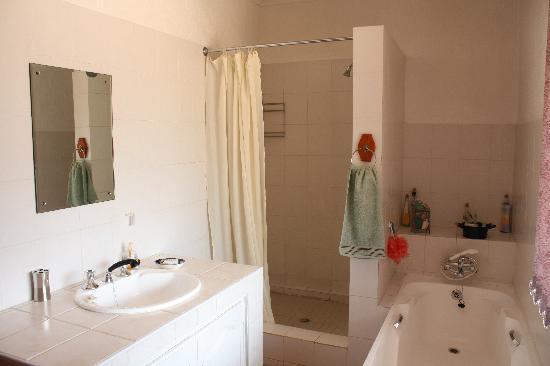 Pension Gecko: Cottage: Bathroom