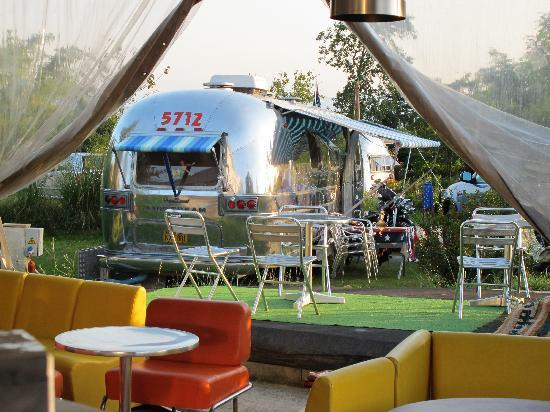 Belrepayre Airstream & Retro Trailer Park: 70's furniture & Airstream