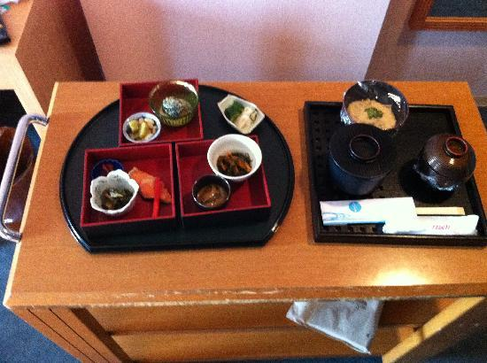 Aomori Kokusai Hotel : Room Service Breakfast