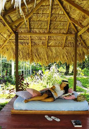 VIP Hotel Playa Negra: Rancho de paja