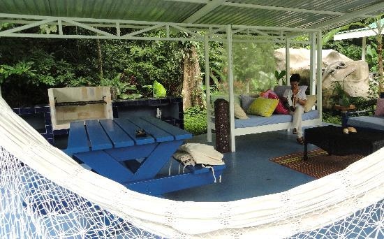VIP Hotel Playa Negra: Zona chill out