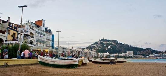 Blanes, Espagne : shmax